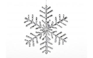 Ozdoba świąteczna Płatek Śniegu 19,5cm