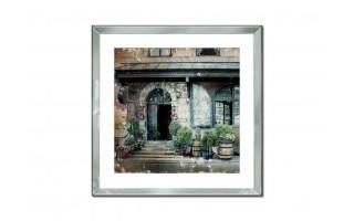 Obraz szklany 60x60 Kamienica
