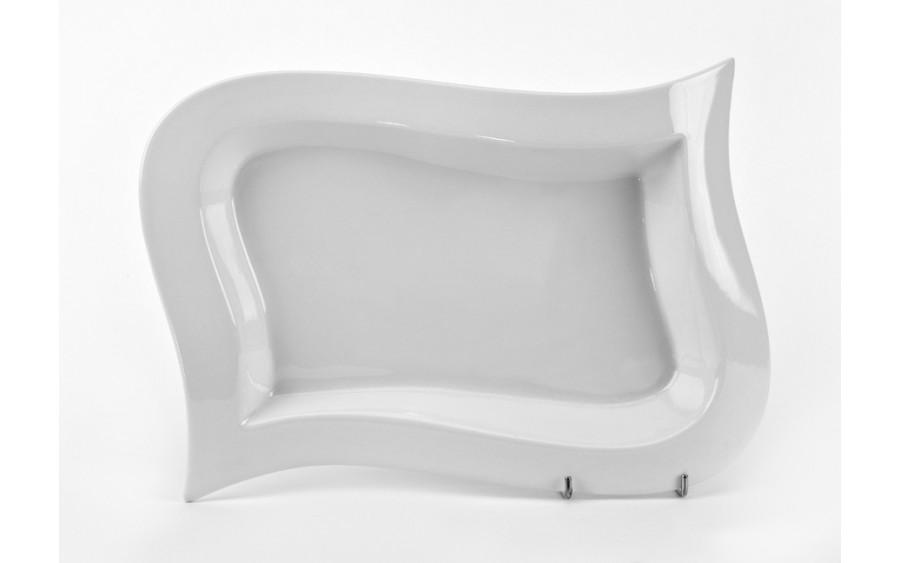 Talerz prostokątny płytki 31x21cm Opera