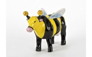 Ozdoba ceramiczna Krowa Pszczółka