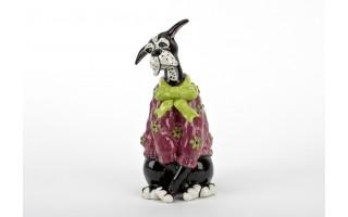 Figurka ceramiczna Pies