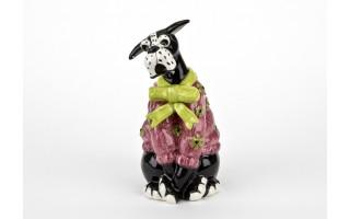 Ceramiczny imbryk Pies w sweterku