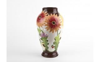 Wazon ceramiczny 35cm Kwiaty