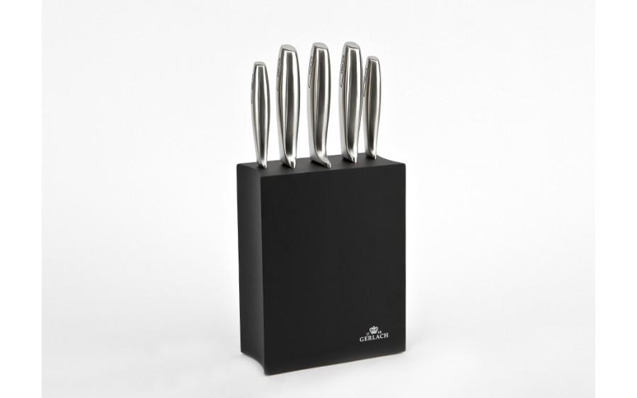 Blok z nożami - 5 części Gerlach czarny