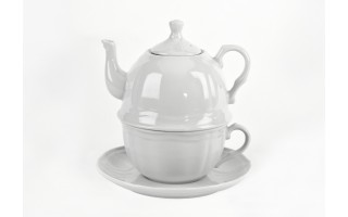 Zestaw Herbaciany Tea For One 1/3 Castel White