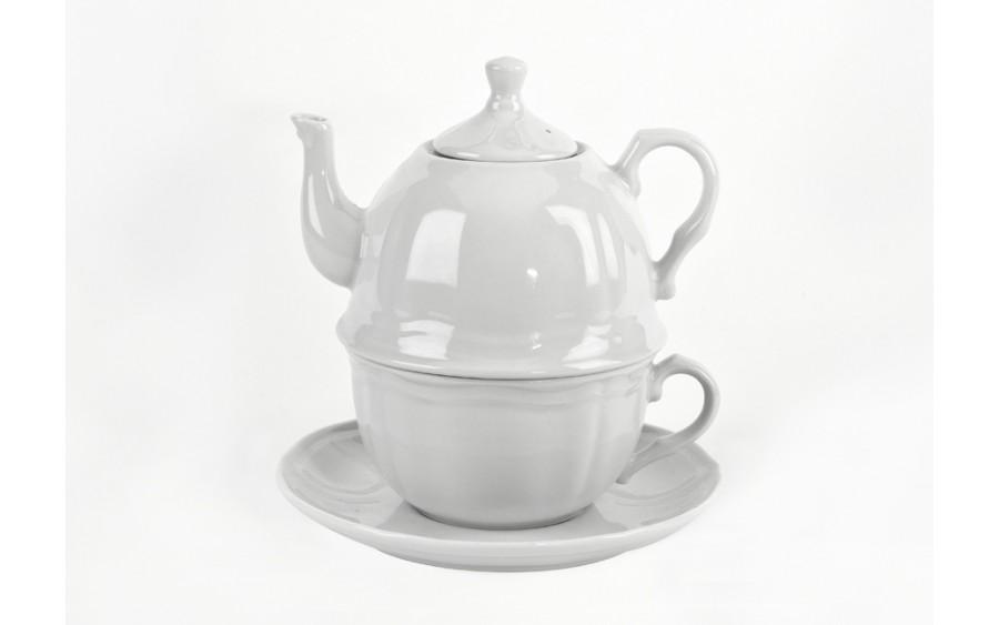 Zestaw Herbaciany Tea For One 1/3 Castel White