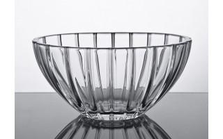 Salaterka kryształowa 20x30cm Oval Bohemia
