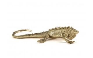 Ozdoba z mosiądzu Iguana