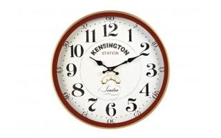 Zegar ścienny metalowy 40cm Kensington