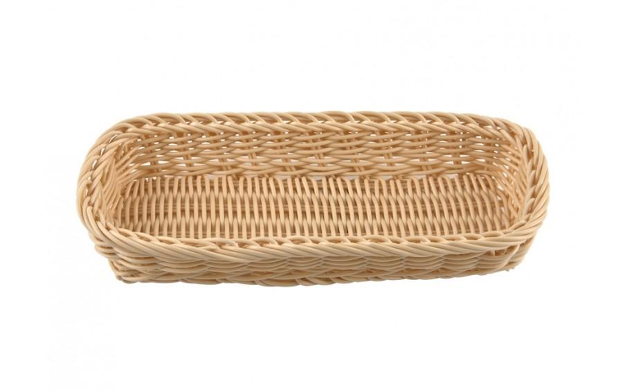Koszyk polipropylen 27cm kremowy
