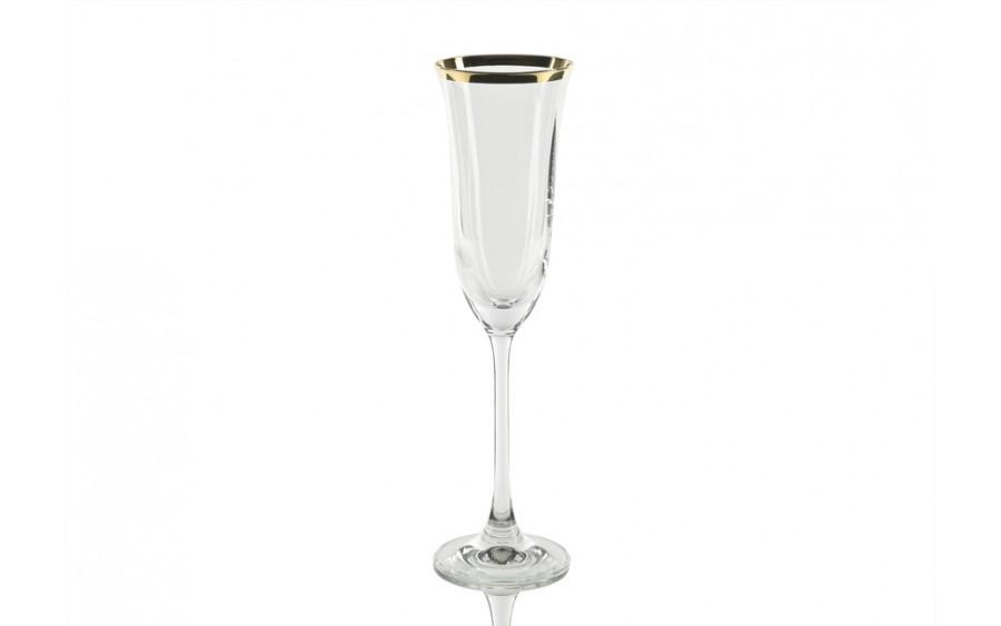 6x Kieliszek do szampana 160ml Golden Line