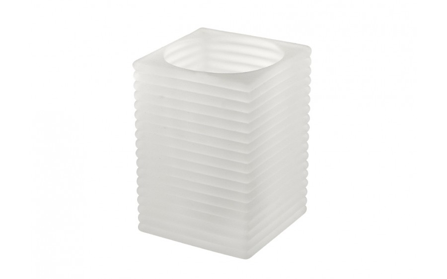 Lampion Mirage Large Frosted White