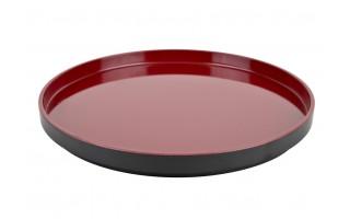 Taca 30cm Asia czarno-czerwona