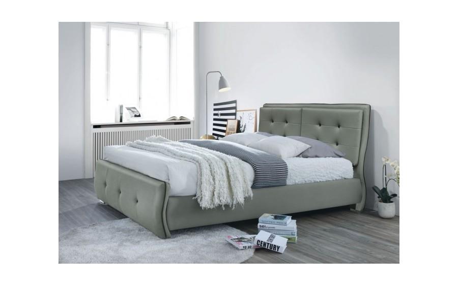 Łóżko tapicerowane Happy (ekoskóra)