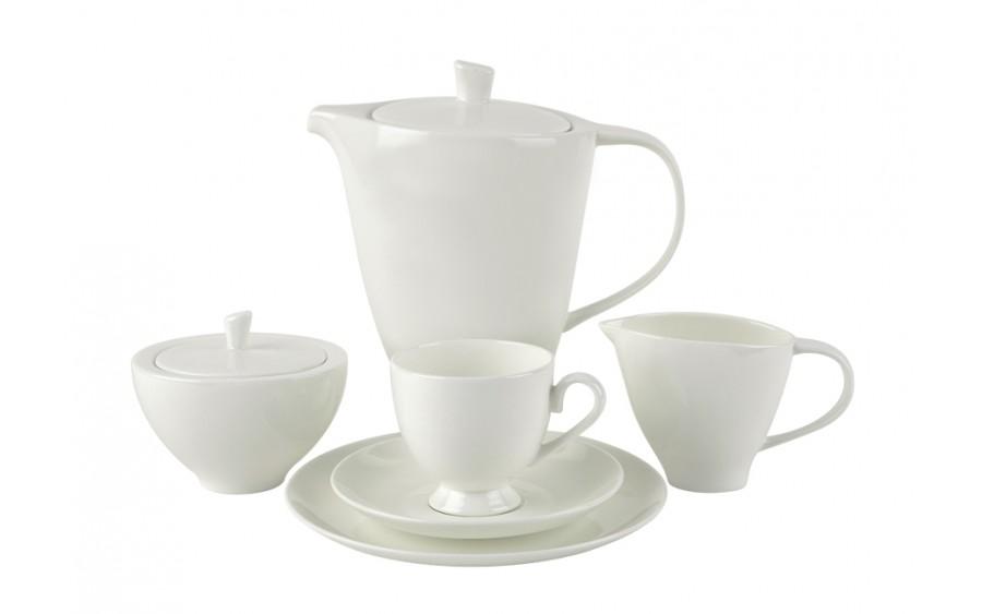 Serwis do kawy 12/27 White Smooth