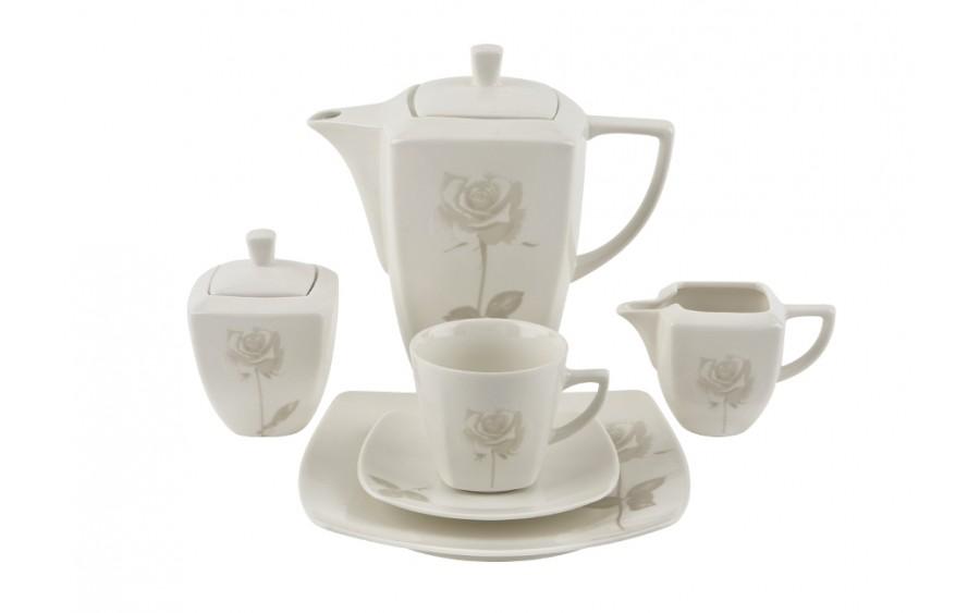 Serwis do kawy 12/27 Romantica Rosa Witek's