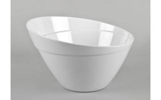 Salaterka z melaminy 2,5L biała