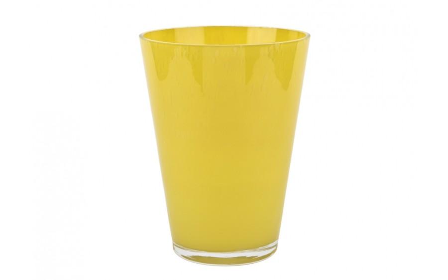 Wazon 26cm żółty