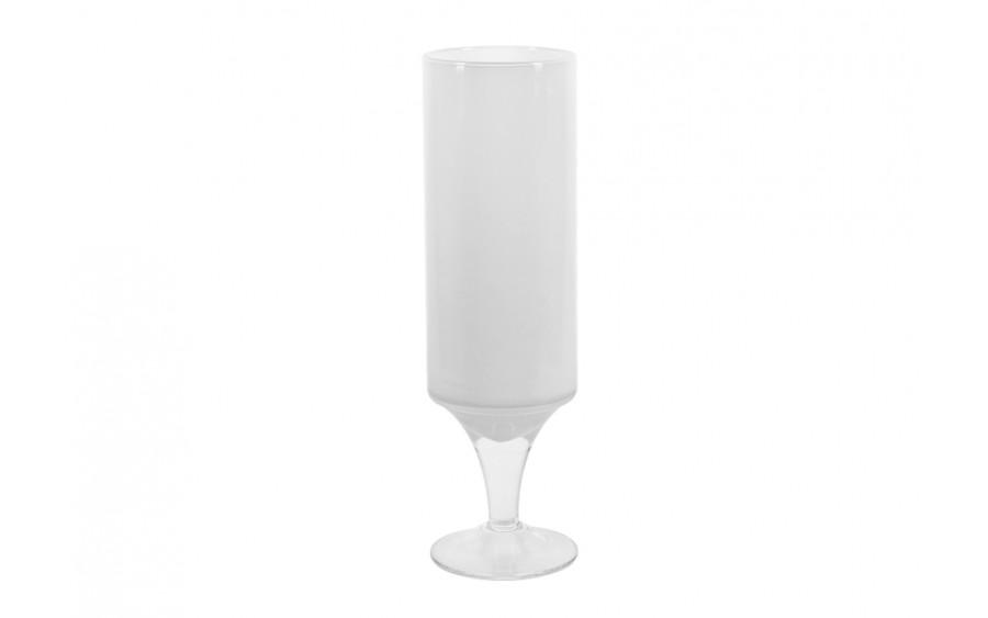 Kielich ozdobny 40,5cm biały