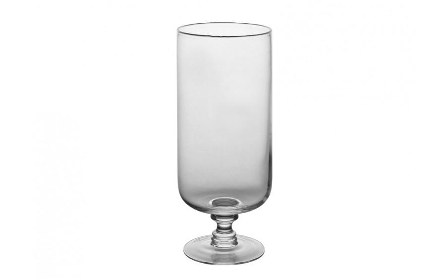 Świecznik szklany 35cm