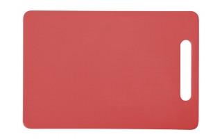 Deska do krojenia 29x19cm czerwona