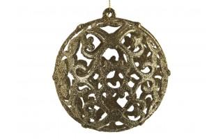 Bombka 12cm złota