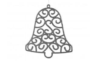 Ozdoba świąteczna Dzwonek srebrny
