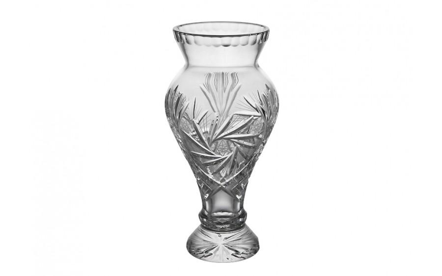 Wazon kryształowy 24,5cm Violetta