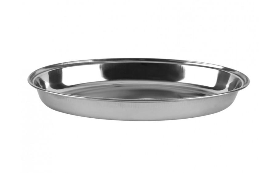 Półmisek nierdzewny owalny 30cm Curry