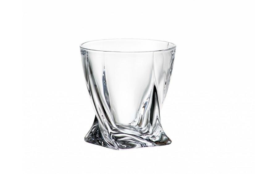 Szklanka do whisky Quadro 340ml Bohemia