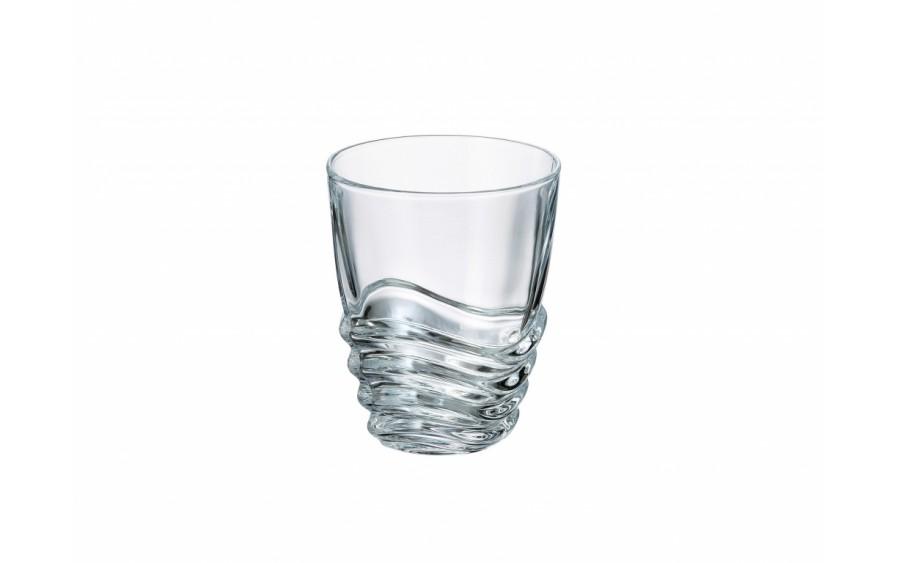 Szklanka kryształowa Bohemia Wave 280ml