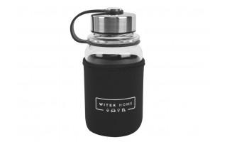 Butelka szklana/termos 700ml w pokrowcu