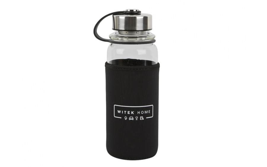 Butelka szklana/termos 1L w pokrowcu