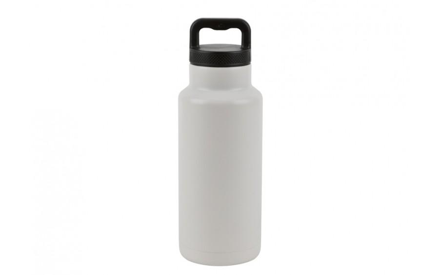 Termos 1,1L metalowy biały