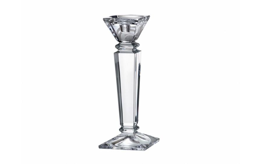 Świecznik kryształowy 30cm Empery Bohemia