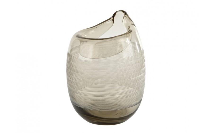 Wazon szklany 28cm