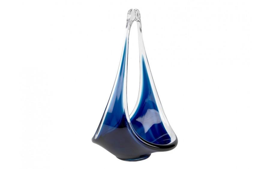 Patera szklana 24cm