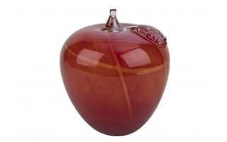 Ozdoba szklana Jabłko czerwone 15,5cm