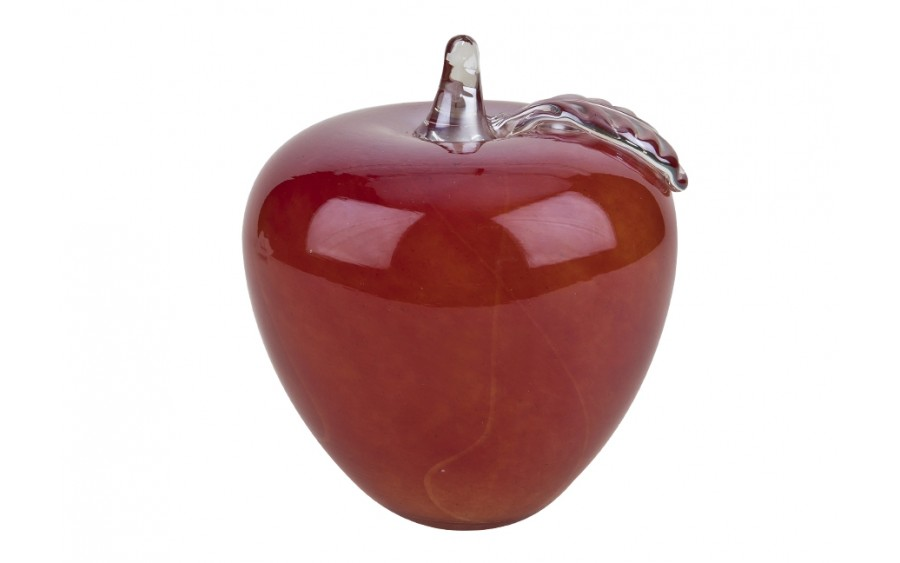 Ozdoba szklana Jabłko czerwone 13,5cm