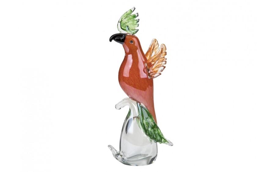 Ozdoba szklana Papuga