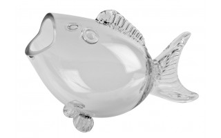 Wazon szklany Ryba 65cm