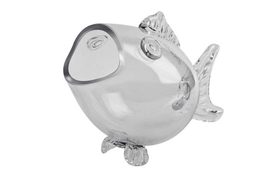Wazon szklany Ryba 35cm