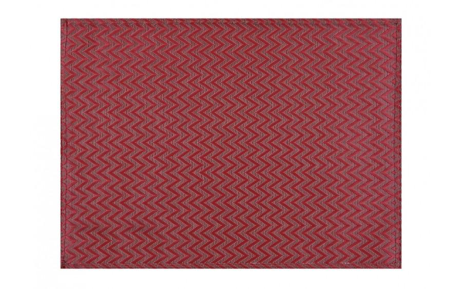 Podkładka na stół APS czerwona zygzak
