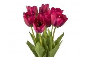 Tulipan czerwony sztuczny