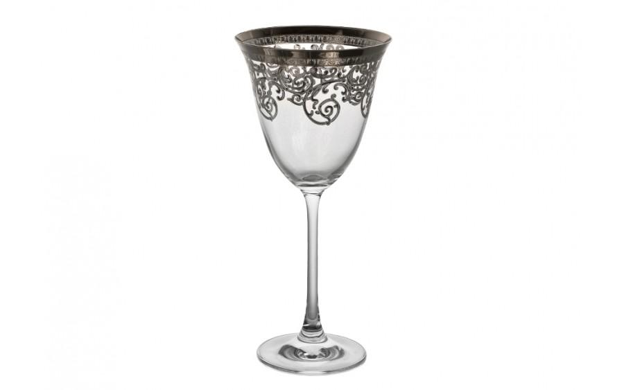 6x kieliszek goblet 260ml Old Silver