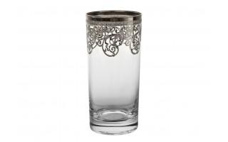 6x szklanka do piwa 380ml Old Silver