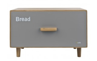 Pojemnik na chleb Scandic Husla szary