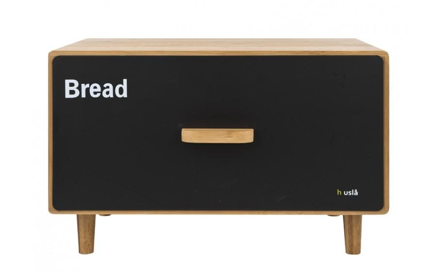 Pojemnik na chleb Scandic Husla czarny