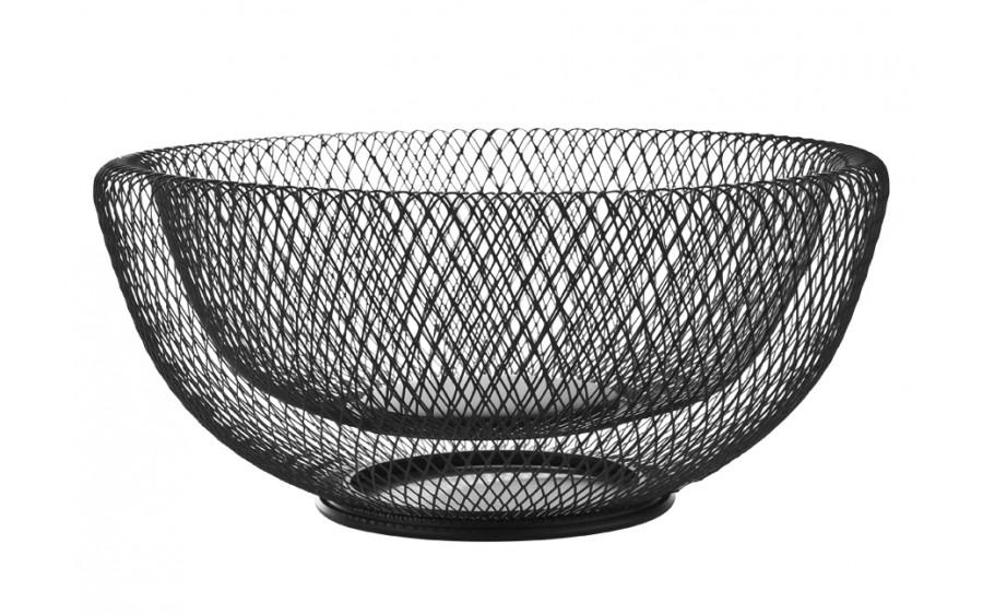 Koszyk na owoce 31cm czarny