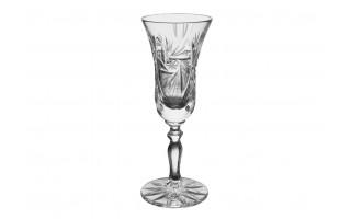 Kryształowy kieliszek do wódki Wrzos Flet